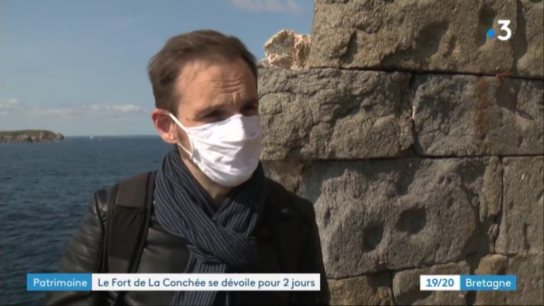 Saint-Malo : le fort de la Conchée ouvre ses portes au public