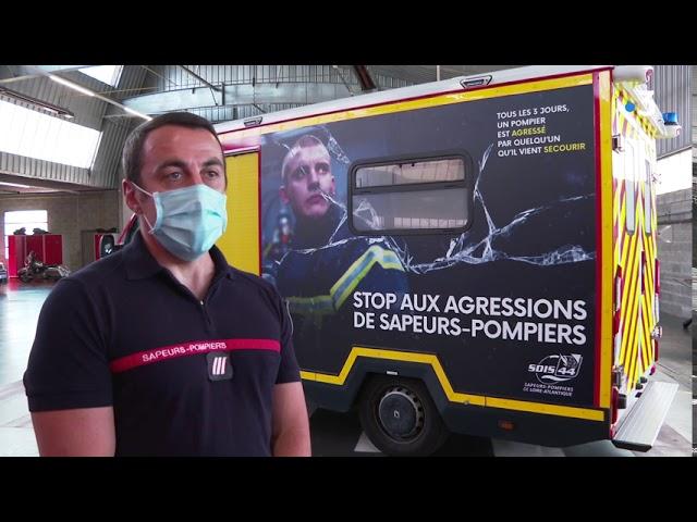 Tous les 3 jours des sapeurs pompiers de la Loire-Atlantique sont victimes d'agressions
