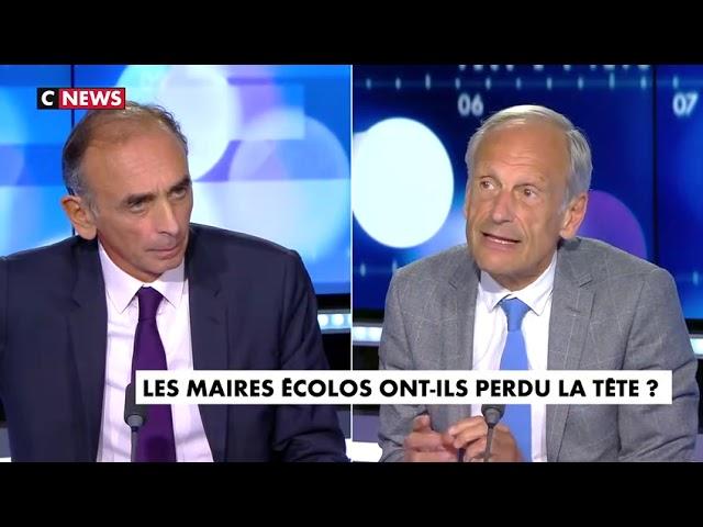 Eric Zemmour : « L'ennemi mortel des écolos, c'est le peuple Français, avec sa culture, ses traditions »