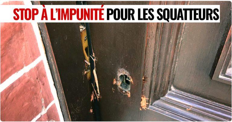 Après l'exaction de Théoule-sur-Mer. Une pétition contre l'impunité pour les squatteurs
