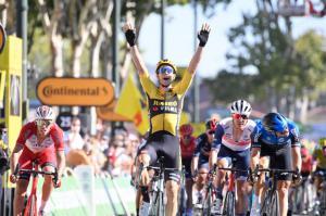 Cyclisme. Le Flamand Wout Van Aert remporte une superbe 7ème étape du Tour de France 2020