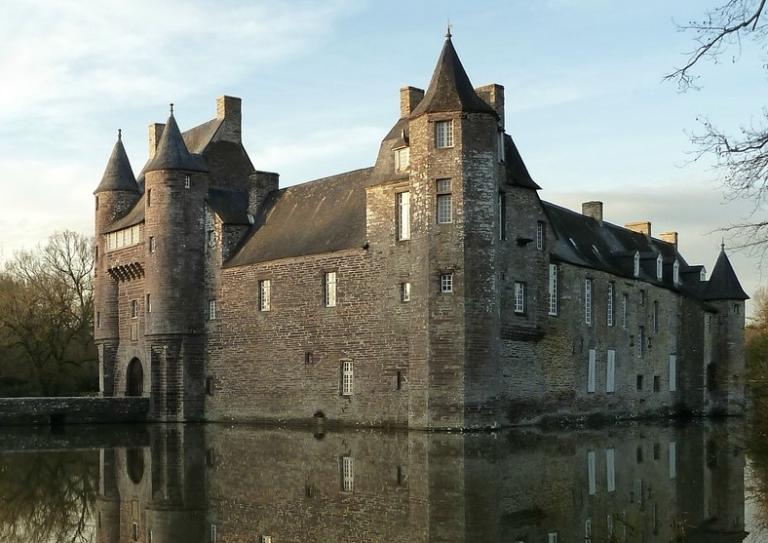 À la découverte du château de Trécesson (56)
