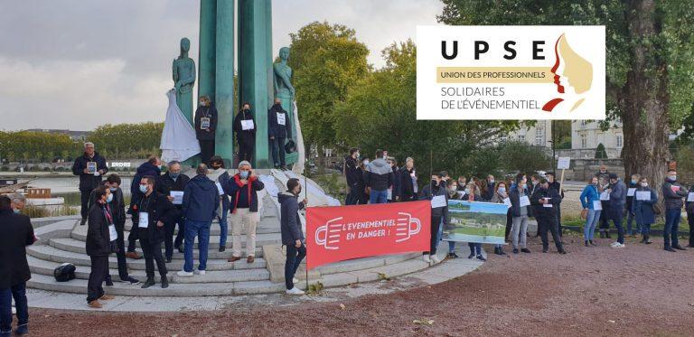 Nantes. Les prestataires des événements des collectivités et des associations manifestent contre les mesures sanitaires asphyxiantes économiquement