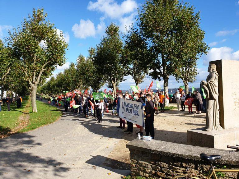 À Brest, Rennes, Nantes, Saint-Brieuc, Vannes, des milliers de Bretons ont marché pour dire non à la GPA et à la PMA