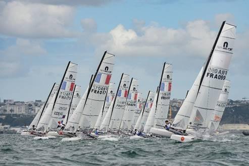 Quiberon (56). Le championnat de France catamaran aura lieu du 18 au 22 octobre