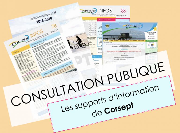 Corsept (44) lance une consultation publique… sur sa façon de communiquer