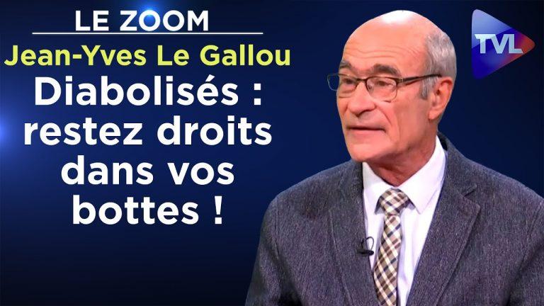 Jean-Yves Le Gallou – Diabolisés : restez droits dans vos bottes !