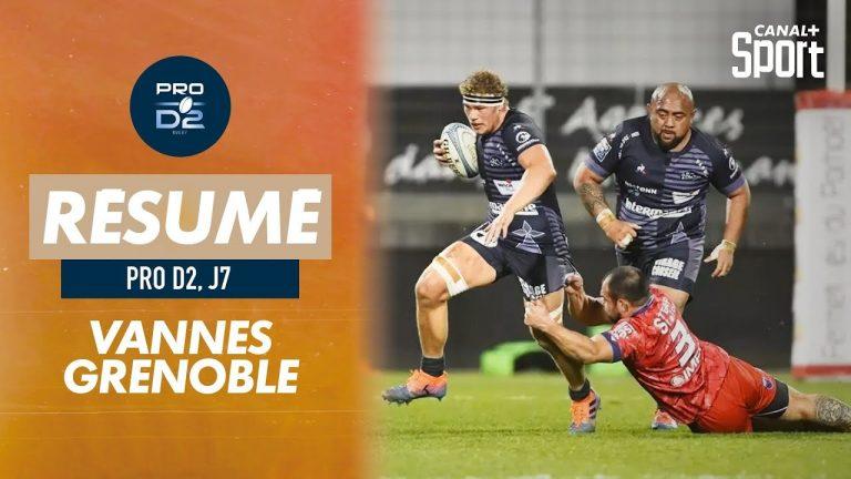 Le RC Vannes poursuit sa marche en avant en battant Grenoble