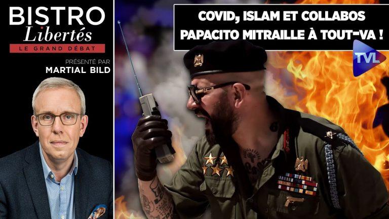 Expédition punitive. Papacito présente son nouveau livre chez Bistro Libertés