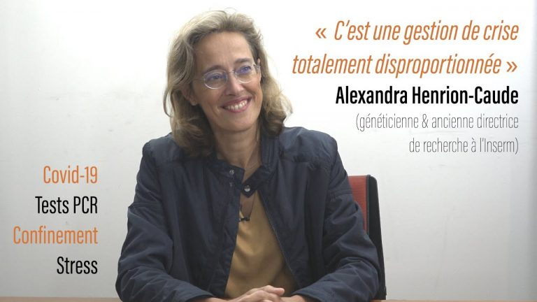 Covid-19, gestion sanitaire, tests PCR, vaccins ARN, stress : l'analyse d'Alexandra Henrion-Caude