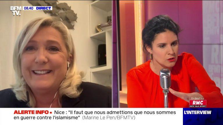 Marine Le Pen : « L'immigration massive, inconsidérée, dérégulée, a été un drame »