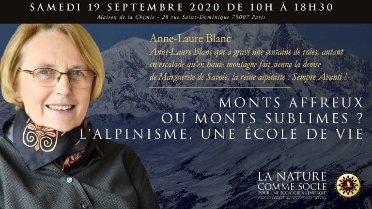 « Monts affreux ou monts sublimes ? L'alpinisme, une école de vie »