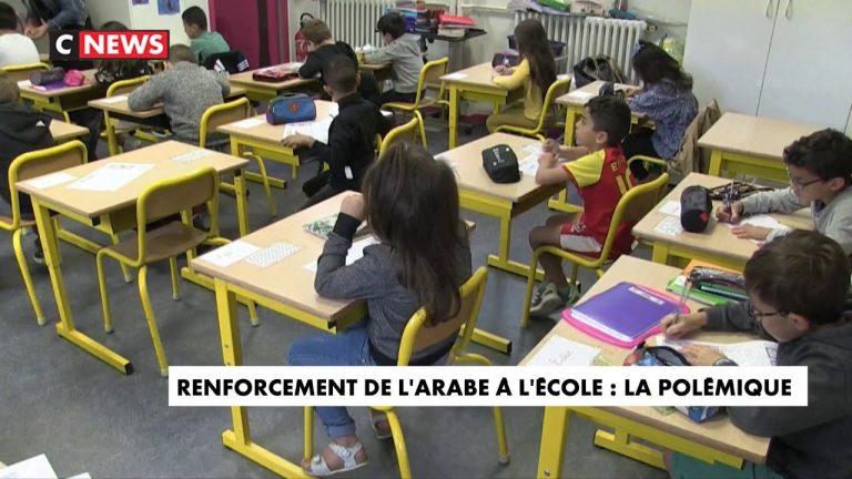 Renforcement de l'arabe à l'école : la polémique