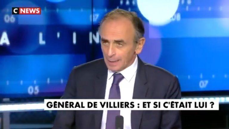 Éric Zemmour : « Quand la patrie est en danger, on cherche un général. »