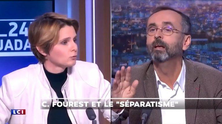 Clash entre Robert Ménard et Caroline Fourest qui accuse le RN d'être un parti séparatiste