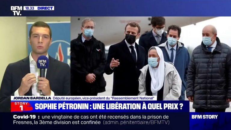 Le commentaire de Jordan Bardella sur la volonté de Sophie Pétronin de retourner au Mali