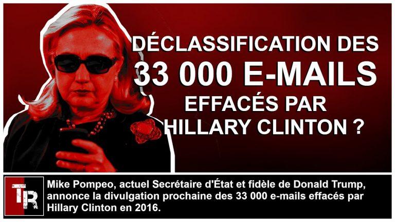 Mike Pompeo annonce la divulgation des 33 000 e-mails effacés par Hillary Clinton