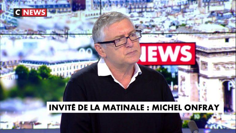 Michel Onfray : « On n'a pas les moyens de faire respecter la loi dans un certain nombre d'endroits »