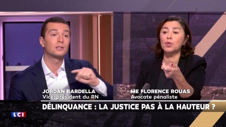 Jordan Bardella ridiculise une avocate sur LCI : « Vous êtes le symbole du laxisme de la justice ! »