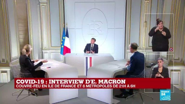 Covid-19 et tyrannie sanitaire. Les brimades d'Emmanuel Macron se poursuivent (son interview)