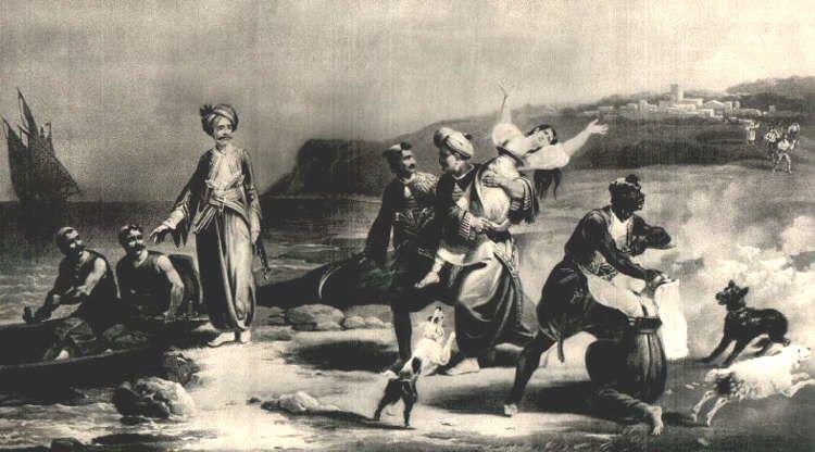Seule la prise d'Alger en 1830 a mis fin à la piraterie barbaresque.