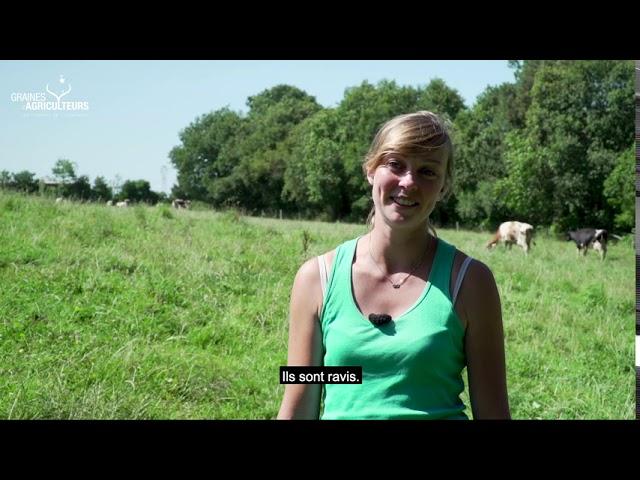 Tiphaine Chatal, jeune agricultrice du Morbihan, lauréate du concours Graines d'Agriculteurs