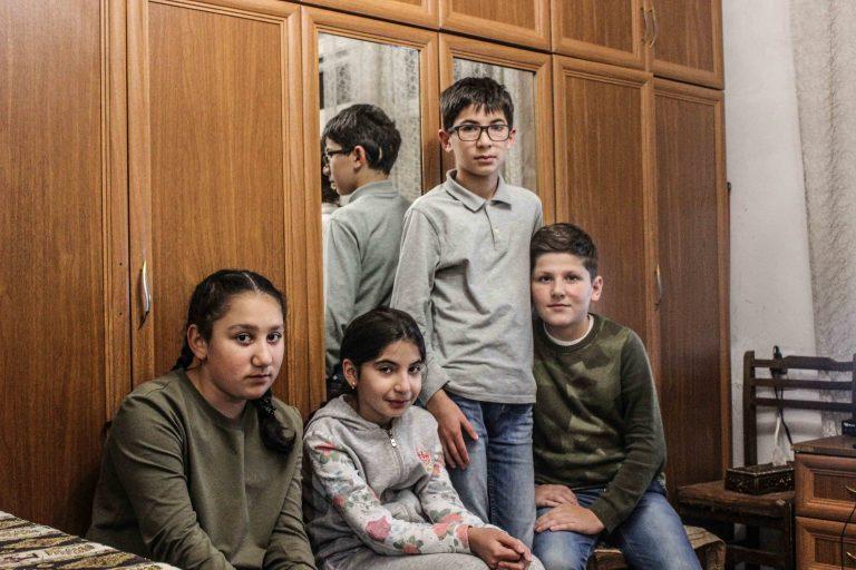 Artsakh (Haut-Karabakh).  SOS Chrétiens d'Orient au secours des habitants déplacés en urgence.