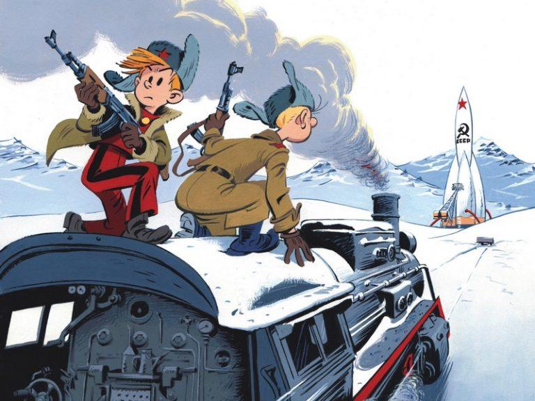 Spirou chez les Soviets (bande dessinée)