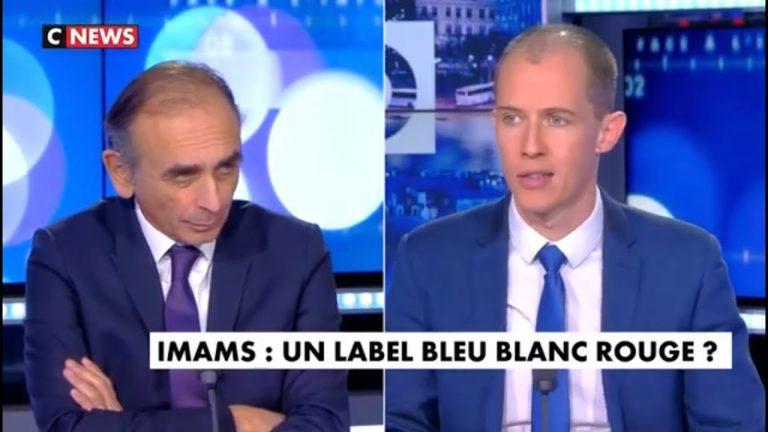 Eric Zemmour : « Les imams français du CFCM, ça peut être pire que les imams étrangers, car on ne pourra pas les expulser »