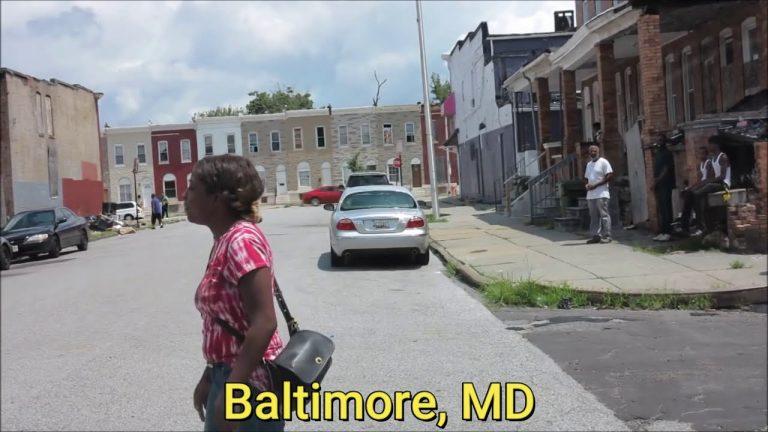 Baltimore, Détroit, une plongée « no comment » dans les quartiers abandonnés de ces deux grandes villes démocrates des USA