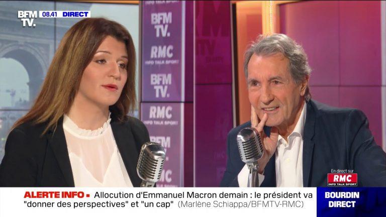 Marlène Schiappa face à Jean-Jacques Bourdin