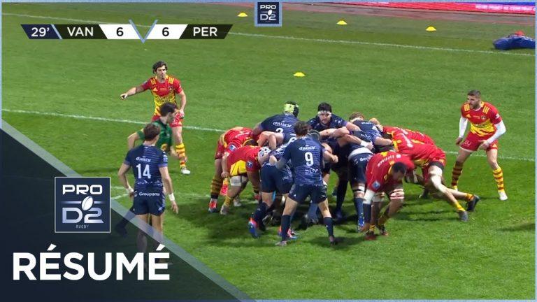 Le RC Vannes craque en toute fin de match contre Perpignan (19-21)