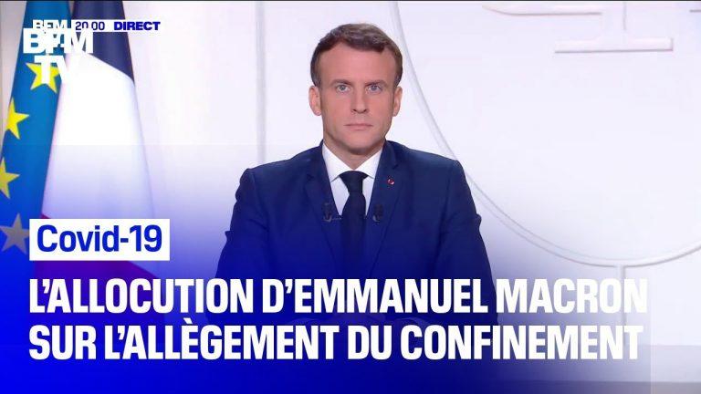 Politique de dressage des masses. Revoir l'allocution d'Emmanuel Macron du 24 novembre