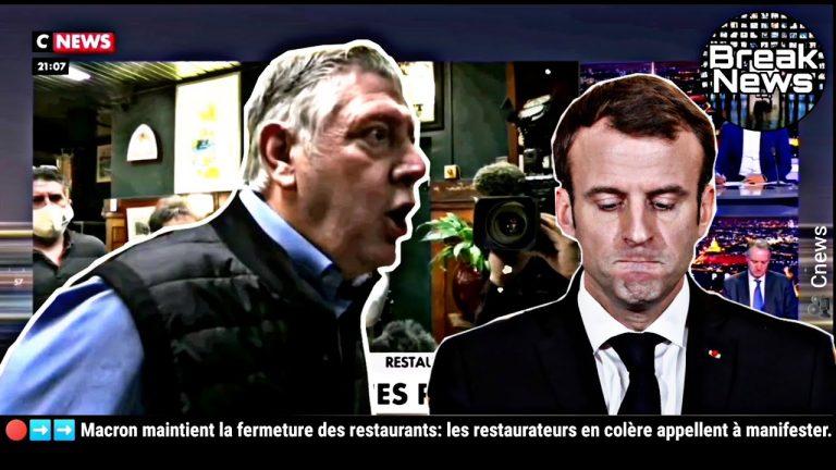 Désobéissance civile ? Des restaurateurs en colère appellent à se soulever face à la tyrannie sanitaire imposée par Macron