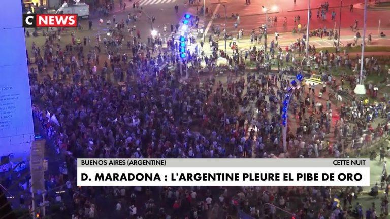 Mort de Diego Maradona : l'Argentine pleure El Pibe de Oro