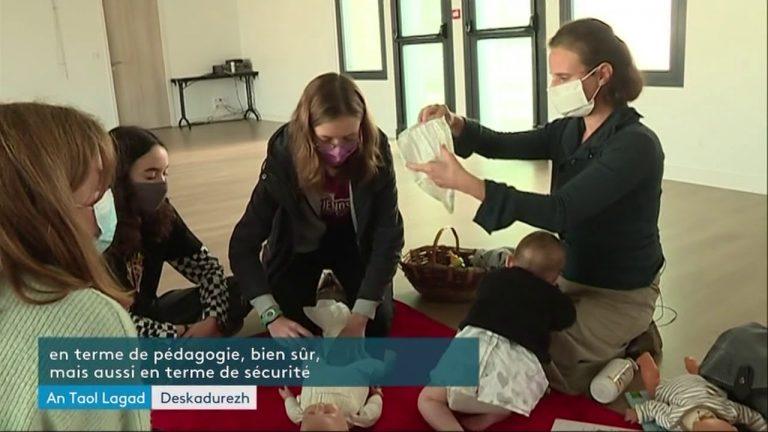 Apprendre à faire du baby sitting en breton