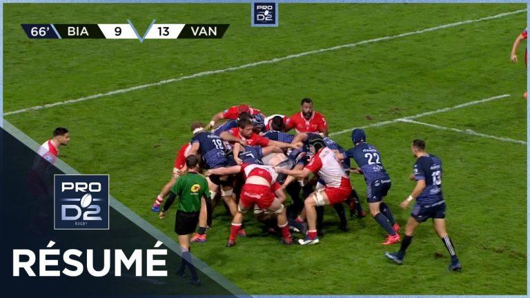 Spitzer on fire, your defence is terrified ! Le RC Vannes triomphe à Biarritz (14-16