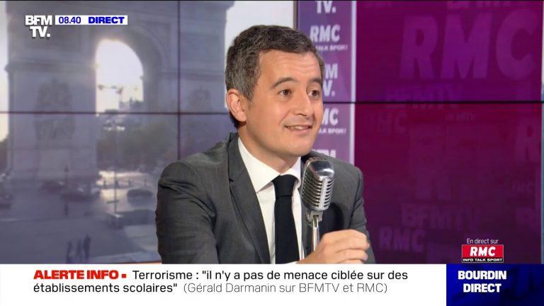 Confinement, islamisme…Gérald Darmanin face à Jean-Jacques Bourdin ce 2 novembre 2020