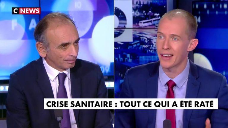 Eric Zemmour : « Jean Castex dit qu'il ne faut pas lâcher la bride aux Français, mais il nous prend pour qui ? On n'est pas des chevaux »