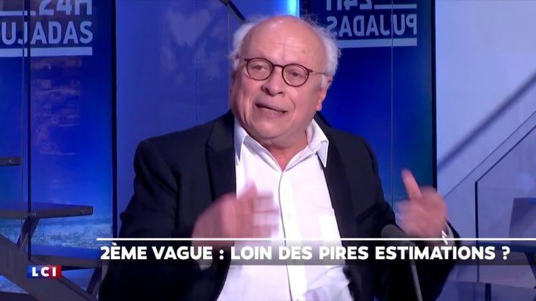 André Bercoff détruit les chiffres de la Covid-19 d'Olivier Véran en direct sur LCI