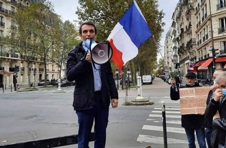 Tyrannie sanitaire. Florian Philippot à Saint-Brieuc jeudi, les antifas chiens de garde du système appellent à contre manifester