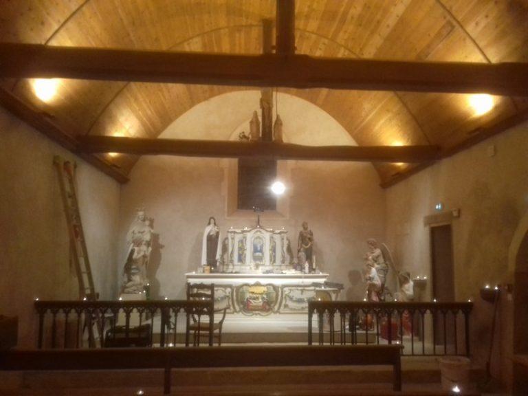 La Chapelle Basse Mer : et la lumière fut à Saint-Pierre aux Liens !