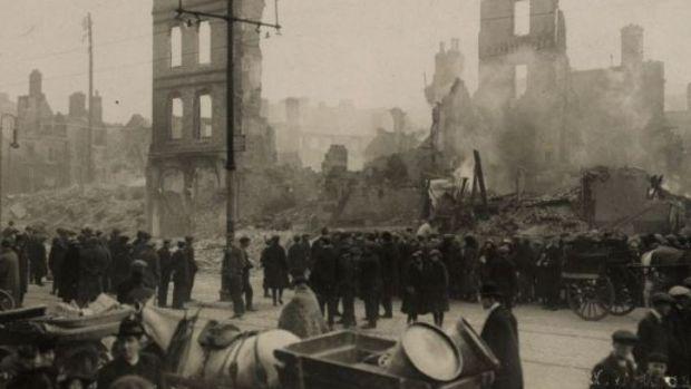 Irlande. Il y a 100 ans, la police royale irlandaise (RIC) et ses auxiliaires incendiaient la ville de Cork