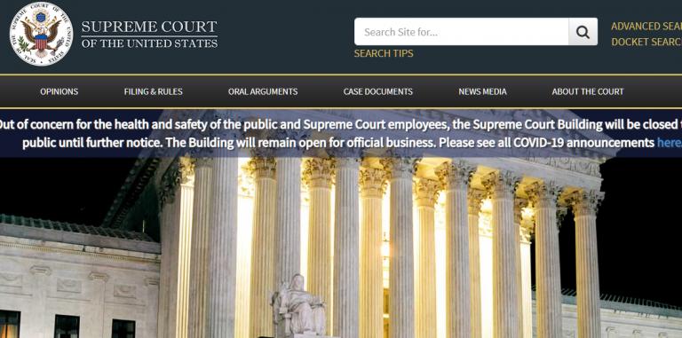 L'État du Texas conteste l'élection américaine devant la Cour suprême U.S.