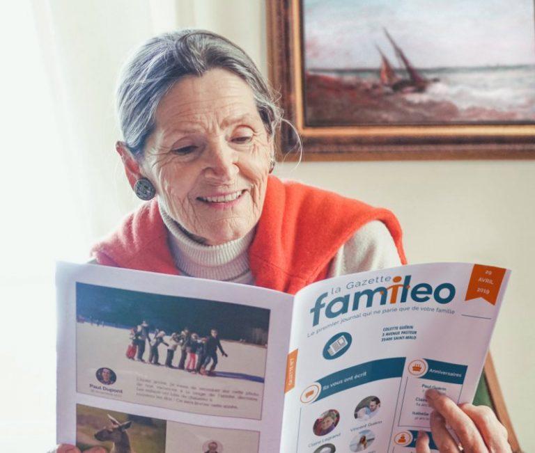 Saint-Malo. Connaissez-vous Familéo, la gazette familiale pour vos anciens ?