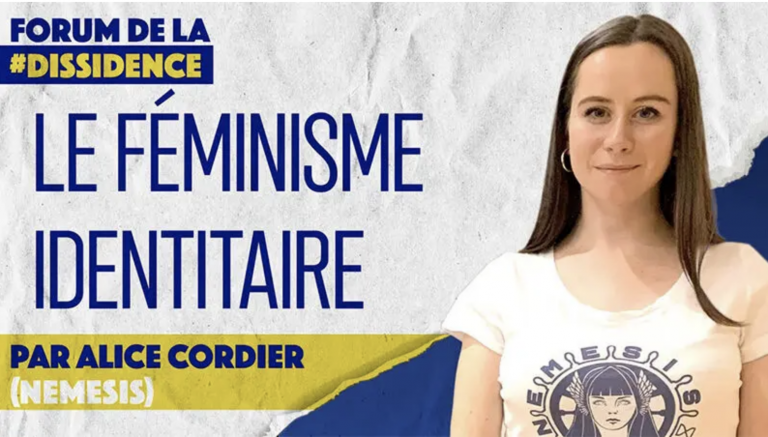 Féminisme identitaire. Pour protéger les femmes européennes : la remigration, par Alice Cordier