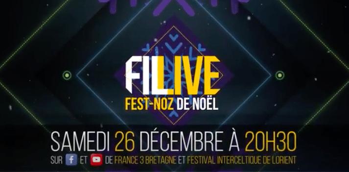 Le festival Interceltique de Lorient propose un Fest-noz de Noël en ligne samedi 26 décembre 2020