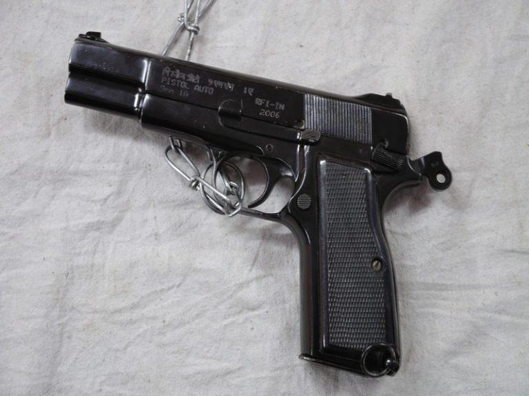 Drogue : Cinq armes de poing saisies par la police et les douanes à Nantes