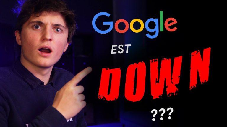 Pourquoi Google a planté la semaine dernière ?