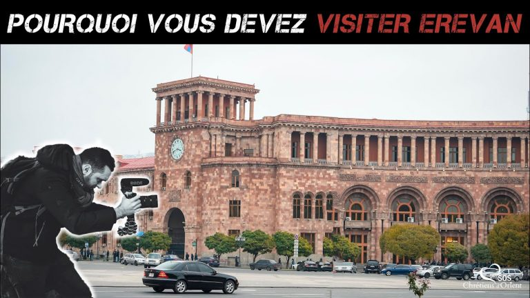 Arménie. Erevan : mon coup de cœur pour la ville rose.